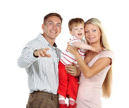Happy family Stock Photo - 3371754