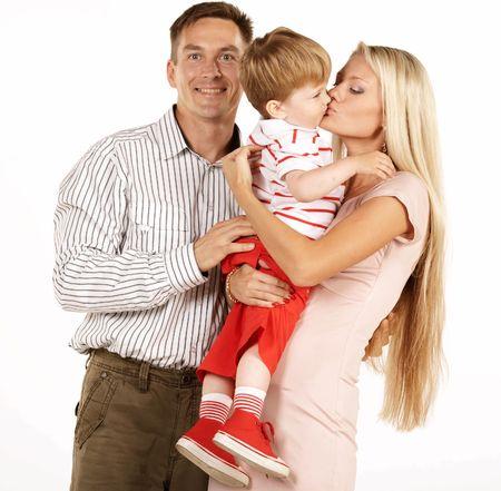 Happy family Stock Photo - 3371755