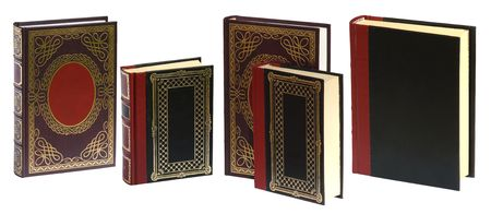 Standing books isolated on white background ready to use in your design. Stock Photo - 872642