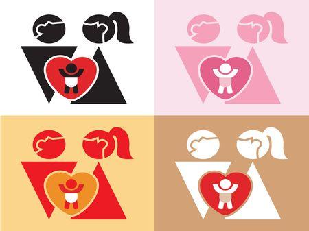 Love,  and newborn  sign photo