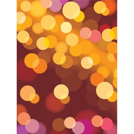 Christmas background with glowing lights, vector Vector