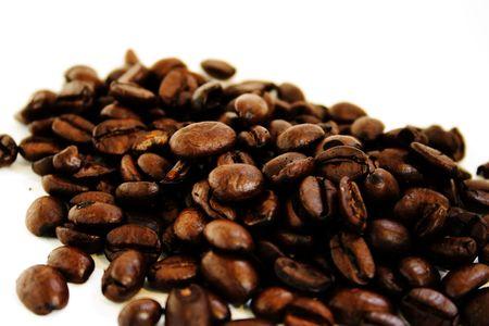 percolate: coffee beans