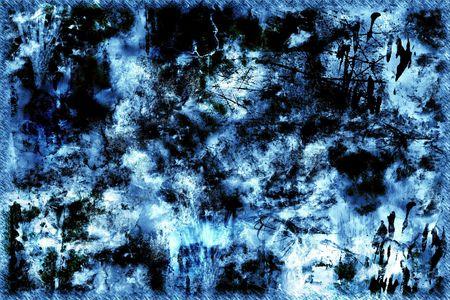 awful: Blue grunge background