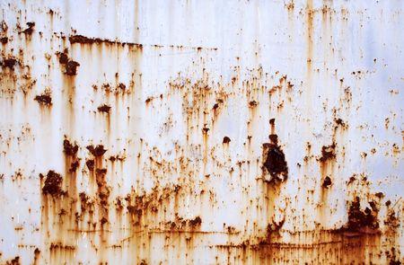 oxidado: Rusty Wall Textura  Foto de archivo