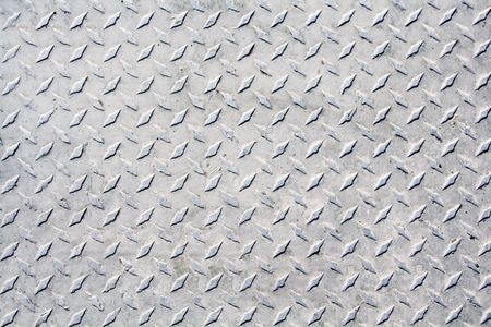 checker plate: Metal grip texture