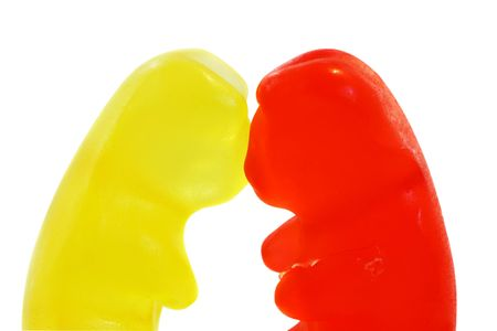 munch: gummy bears Stock Photo