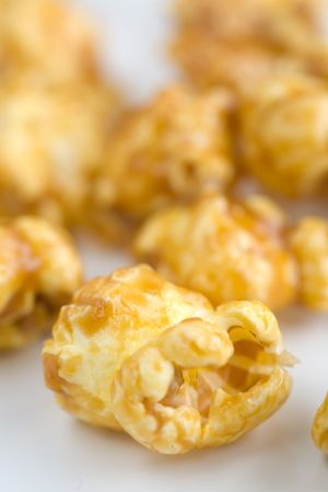 carmel: Carmel Popcorn or toffee popcorn what ever your flavor Stock Photo