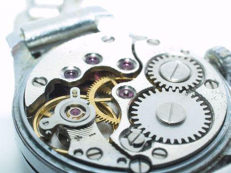 Clockwork inside, macro Stock Photo - 722040