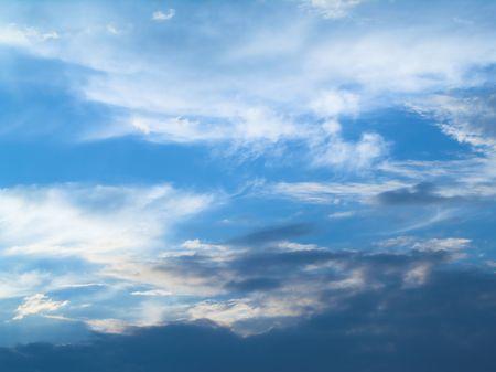 strata: Blue sky (background)