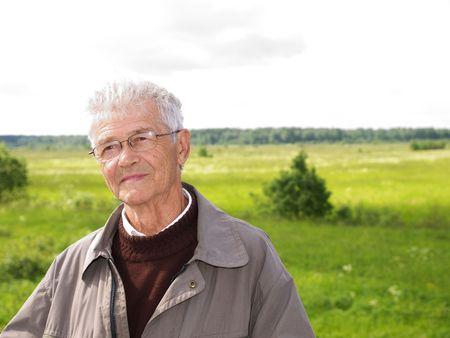 Senior man photo
