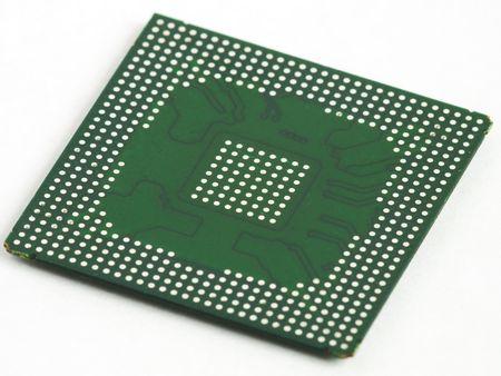 topology: BGA chip in prospect