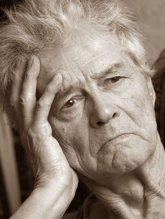 Elderly man photo