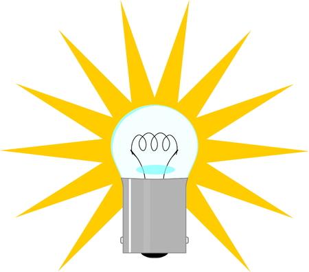 incandescent: Miniature incandescent lamp.