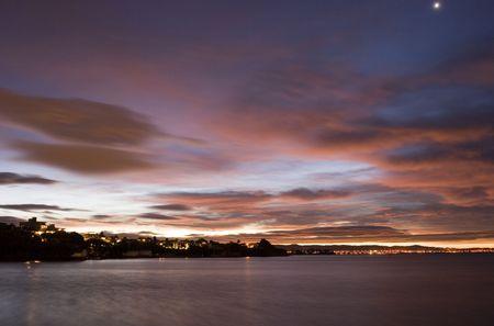 Night Sky over Auckland Stock Photo - 293468