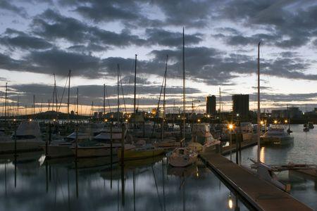 Sunrise over Westhaven photo