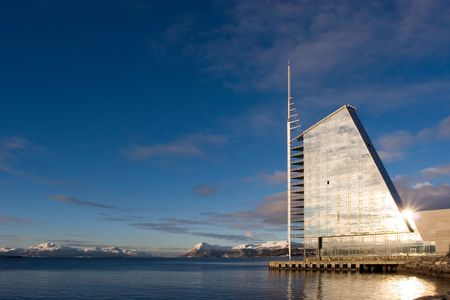 waterfront hotel in Molde, Norway photo