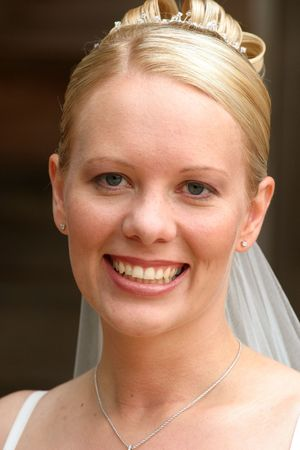 smiling bride on her wedding day Stock Photo - 882416