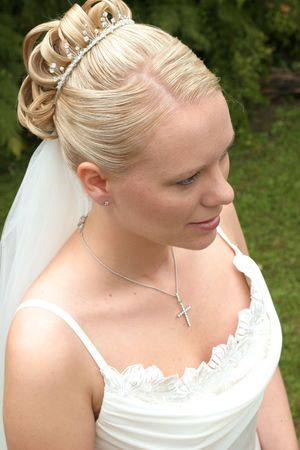 Bride on her wedding day Stock Photo - 882418