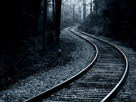 trolley track, hard steel Stock Photo - 269978
