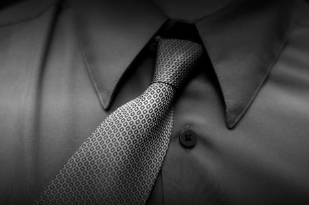crooked: crooked tie