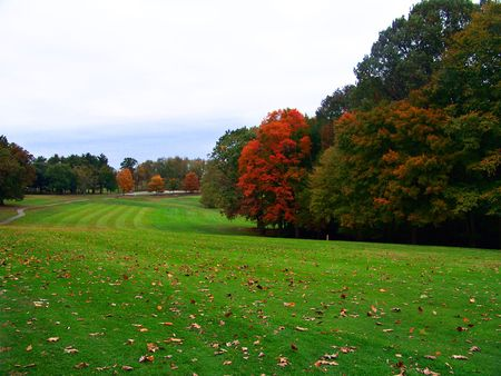 Autumn on the Golf Course