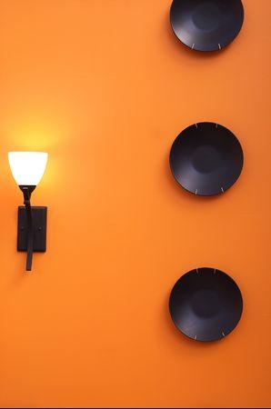 interior design - wall decor Stock Photo