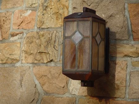 outdoor lighting unit - residential Stock Photo - 407008