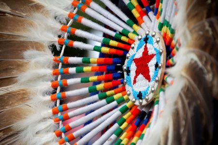 regalia: Native American design