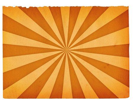 Nahaufnahme von Retro-Papier Hintergrund isoliert auf weißem Hintergrund