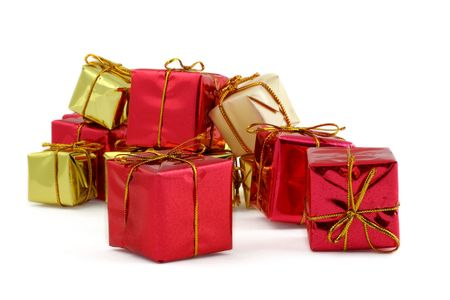 various gifts against white background Stock Photo - 1208471