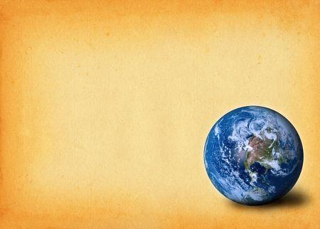 madre terra: madre terra contro la vecchia carta macchiata