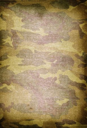 texture of old dirty camouflage pattern  Stock Photo