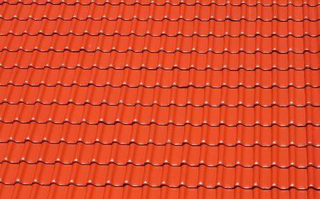 rooftile: astratto fatto di sfondo rosso tegole