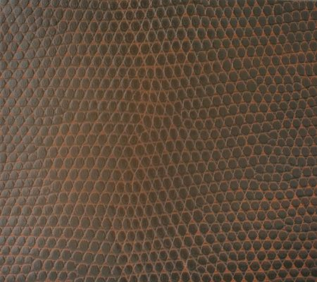 close-up of brown leather texture Stock Photo - 3546685