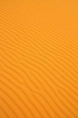 close-up of sand dunes wavy texture photo