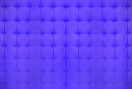 symetry: Texture of blue quilted leather