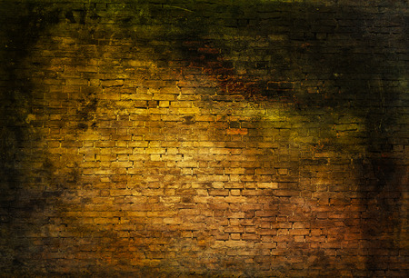 murk: colorful dark brick wall texture