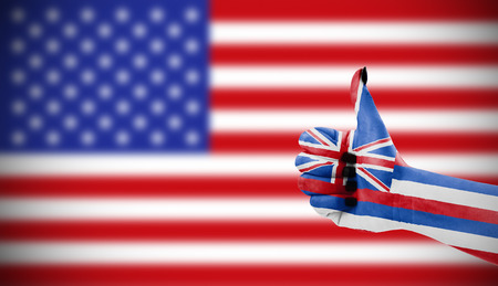 approbation: Positive attitude of Hawaii for USA