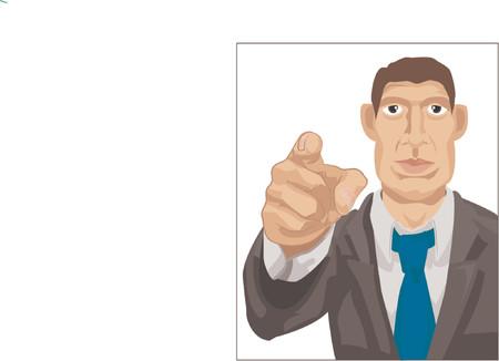 busines wants you Stock Vector - 663416