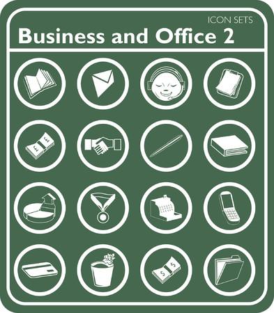 headset business: Business e ufficio icone.