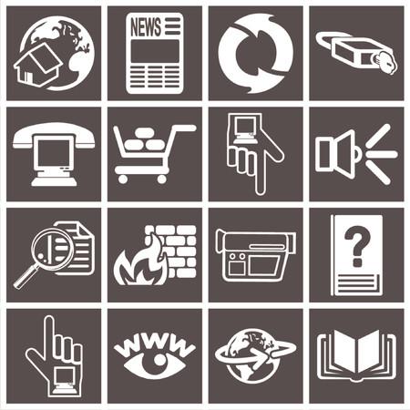 toolbar: un insieme di serie delle icone di fotoricettore