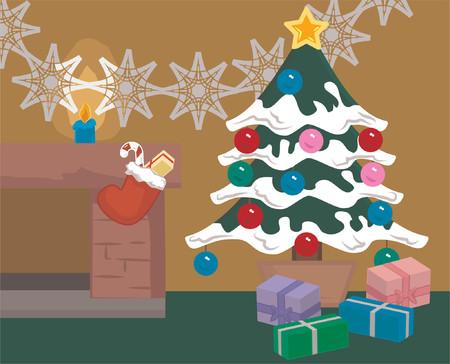 under fire: Una escena de Navidad