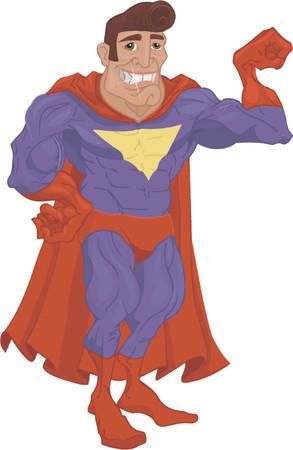 Super hero Stock Vector - 663274