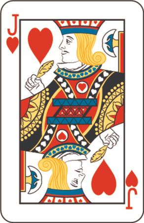 Jack of hearts Stock Photo - 654302