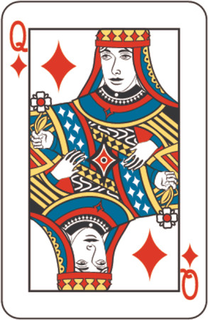 queen of diamonds: queen of diamonds