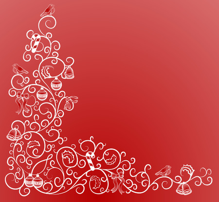 Christmas pattern. A vector illustration of a Christmas pattern Vector