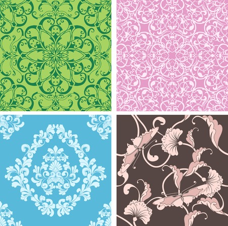 beautiful natural seamless tiles designed to look at its best when tiled Stock Vector - 5522240