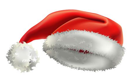 fleecy: illustration of santas hat