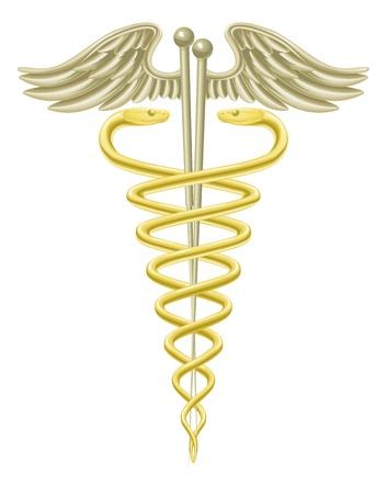 acupuncturist: Un caduceo m�dico con agujas de acupuntura de la medicina tradicional alternativa de la acupuntura.