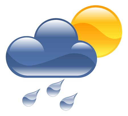 Weather icon clipart illustration Stock Vector - 21683597